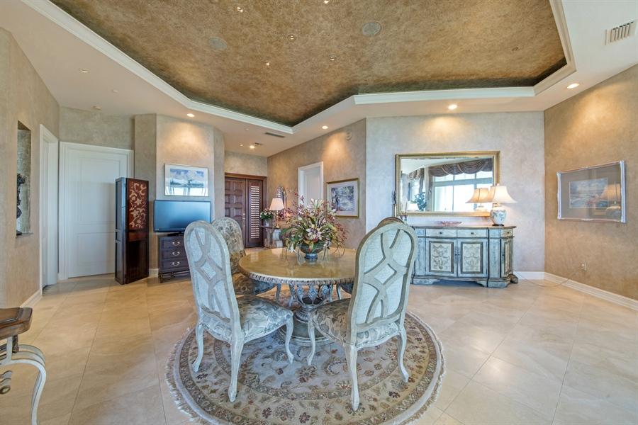 Real Estate Photography - 4801 Island Pond Ct, 1202, Bonita Springs, FL, 34134 - Dining Room