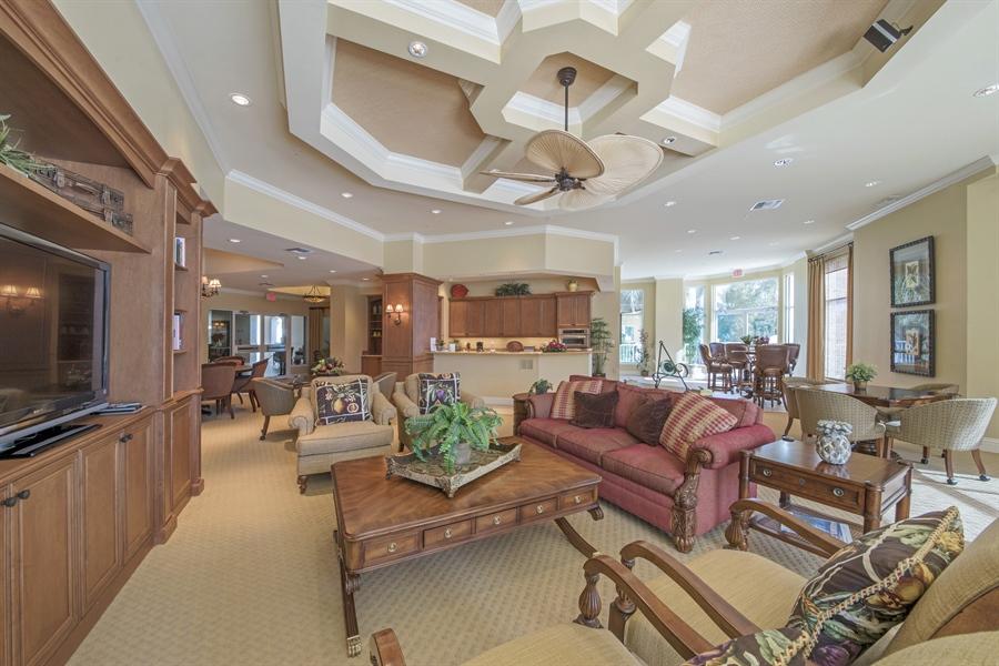 Real Estate Photography - 4801 Island Pond Ct, 1202, Bonita Springs, FL, 34134 - Entertainment Room