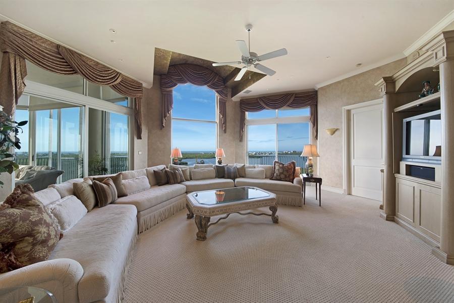 Real Estate Photography - 4801 Island Pond Ct, 1202, Bonita Springs, FL, 34134 - Family Room