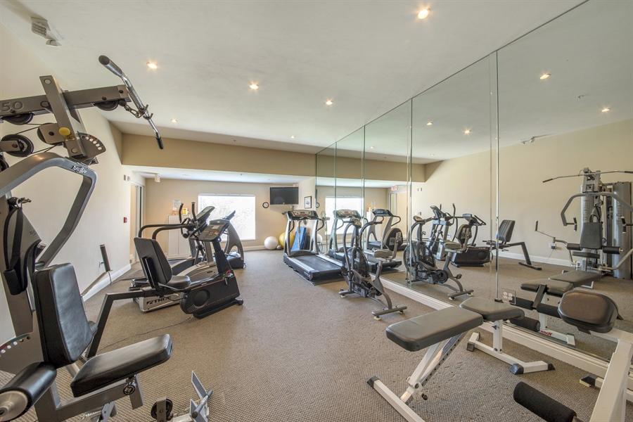 Real Estate Photography - 4801 Island Pond Ct, 1202, Bonita Springs, FL, 34134 - Fitness Room