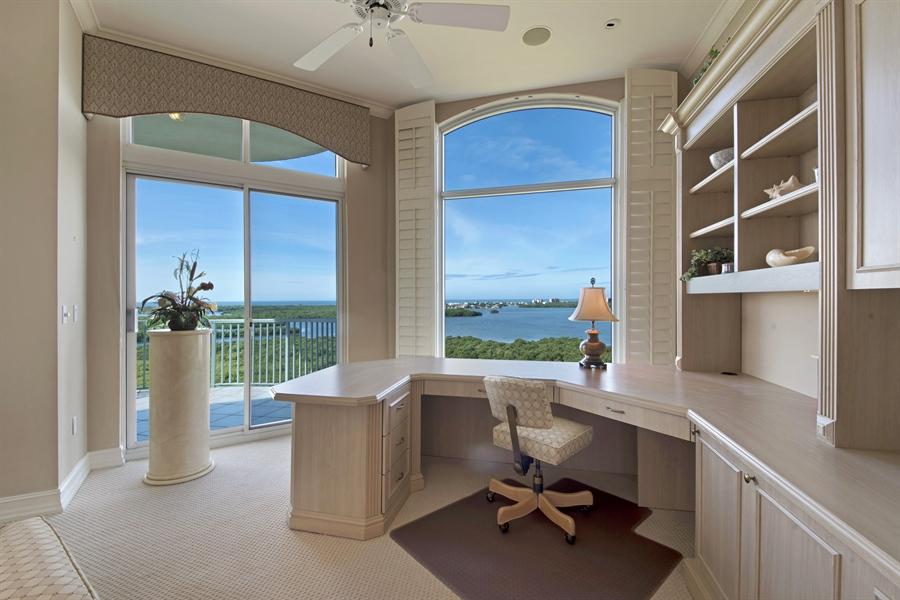 Real Estate Photography - 4801 Island Pond Ct, 1202, Bonita Springs, FL, 34134 - Den