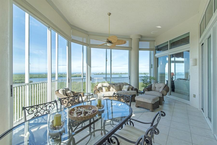 Real Estate Photography - 4801 Island Pond Ct, 1202, Bonita Springs, FL, 34134 - Lanai