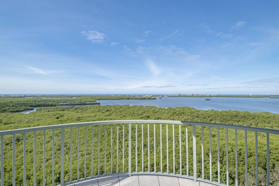 Real Estate Photography - 4801 Island Pond Ct, 1202, Bonita Springs, FL, 34134 - Balcony