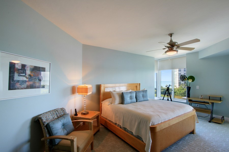 Real Estate Photography - 60 Seagate Drive, 705, Naples, FL, 34103 - 2nd Bedroom