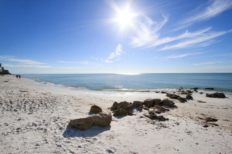 Real Estate Photography - 60 Seagate Drive, 705, Naples, FL, 34103 - Beach