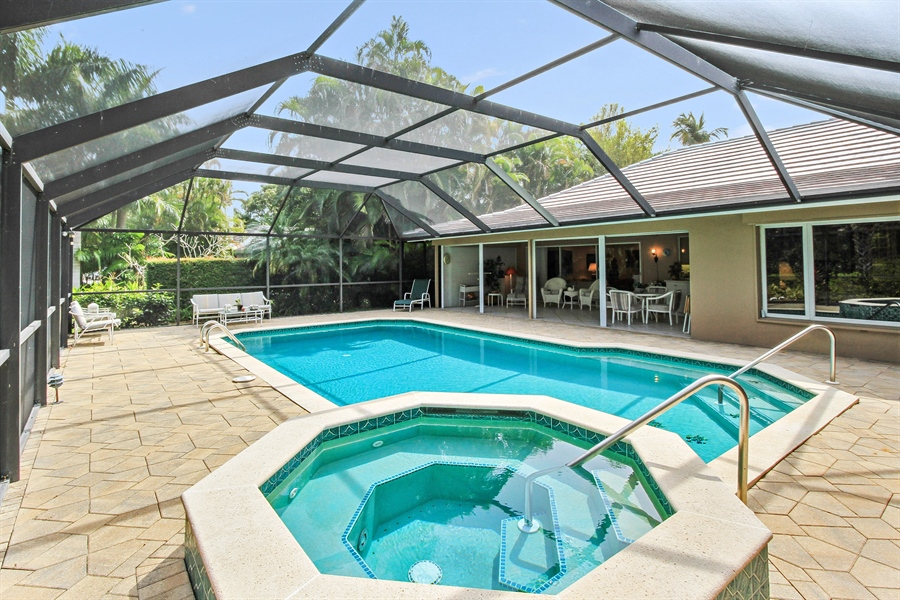Real Estate Photography - 521 Turtle Hatch Road, Naples, FL, 34103 - Spa
