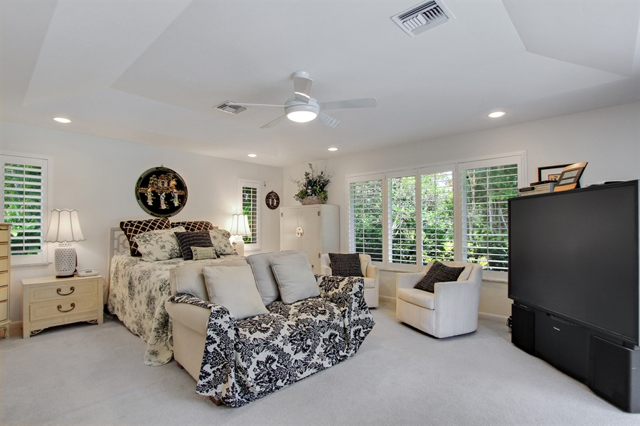 Real Estate Photography - 521 Turtle Hatch Road, Naples, FL, 34103 - Master Bedroom