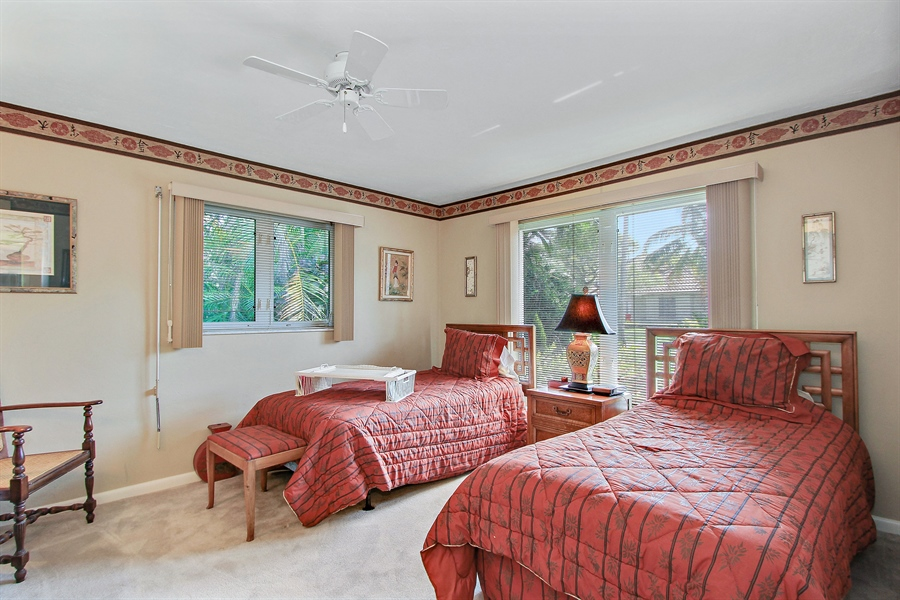 Real Estate Photography - 521 Turtle Hatch Road, Naples, FL, 34103 - 2nd Bedroom