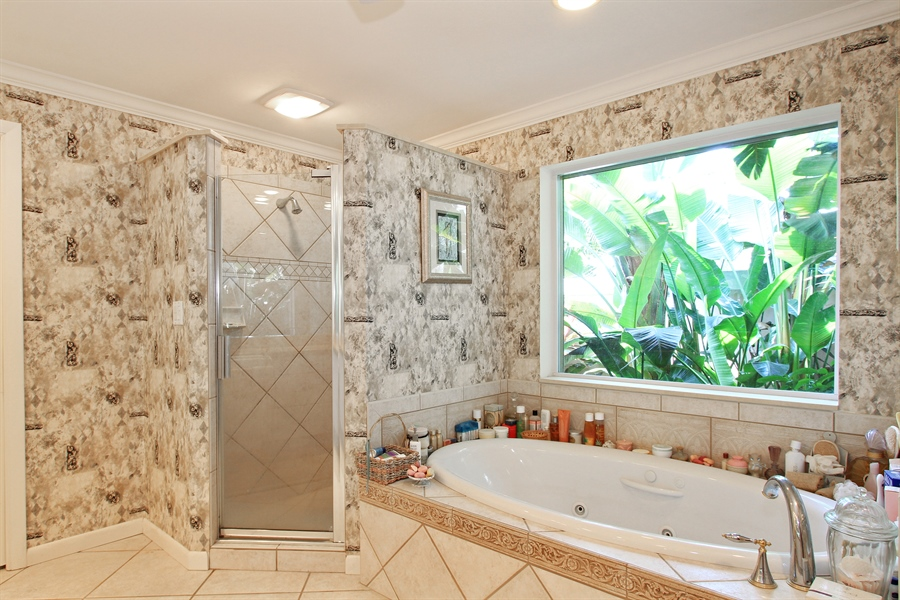 Real Estate Photography - 521 Turtle Hatch Road, Naples, FL, 34103 - Master Bathroom