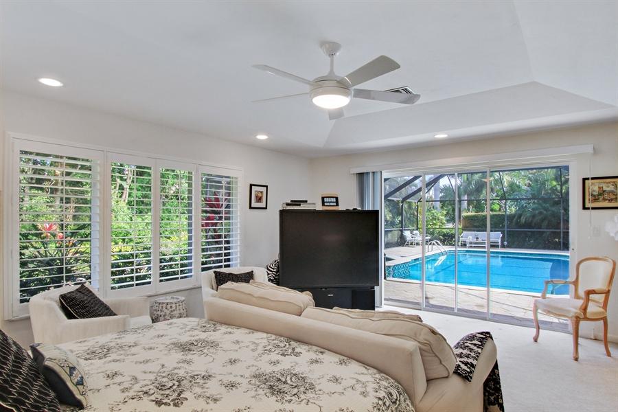 Real Estate Photography - 521 Turtle Hatch Road, Naples, FL, 34103 - Master Bedroom