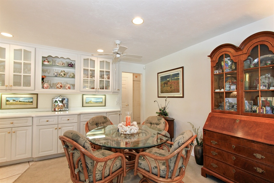 Real Estate Photography - 521 Turtle Hatch Road, Naples, FL, 34103 - Breakfast Area