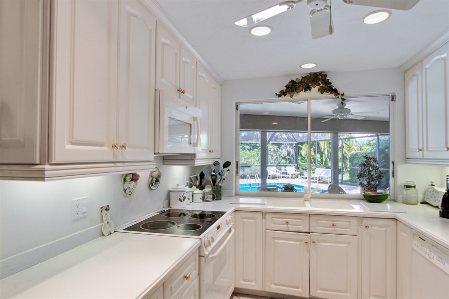 Real Estate Photography - 521 Turtle Hatch Road, Naples, FL, 34103 - Kitchen