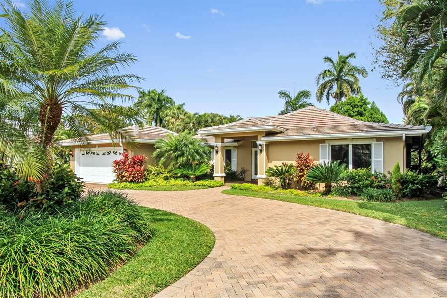 Real Estate Photography - 521 Turtle Hatch Road, Naples, FL, 34103 - Front View
