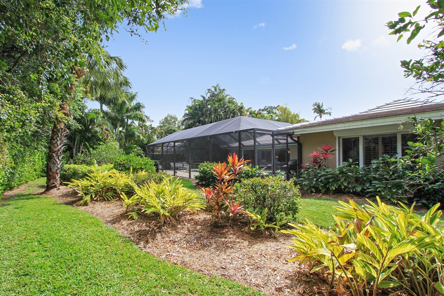 Real Estate Photography - 521 Turtle Hatch Road, Naples, FL, 34103 - Rear View