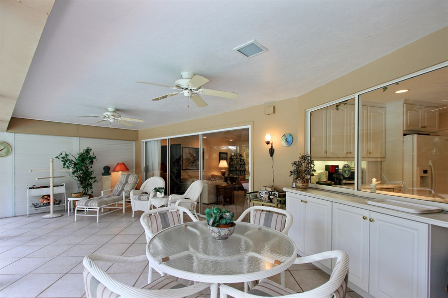 Real Estate Photography - 521 Turtle Hatch Road, Naples, FL, 34103 - Lanai