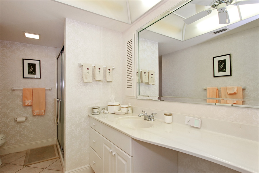 Real Estate Photography - 521 Turtle Hatch Road, Naples, FL, 34103 - 2nd Bathroom