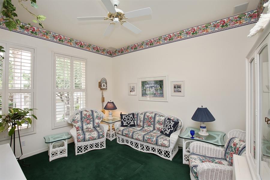Real Estate Photography - 1061 Egrets Walk Cir, #202, Naples, FL, 34108 - 2nd Bedroom