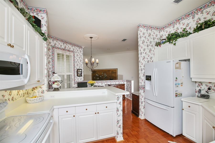 Real Estate Photography - 1061 Egrets Walk Cir, #202, Naples, FL, 34108 - Kitchen