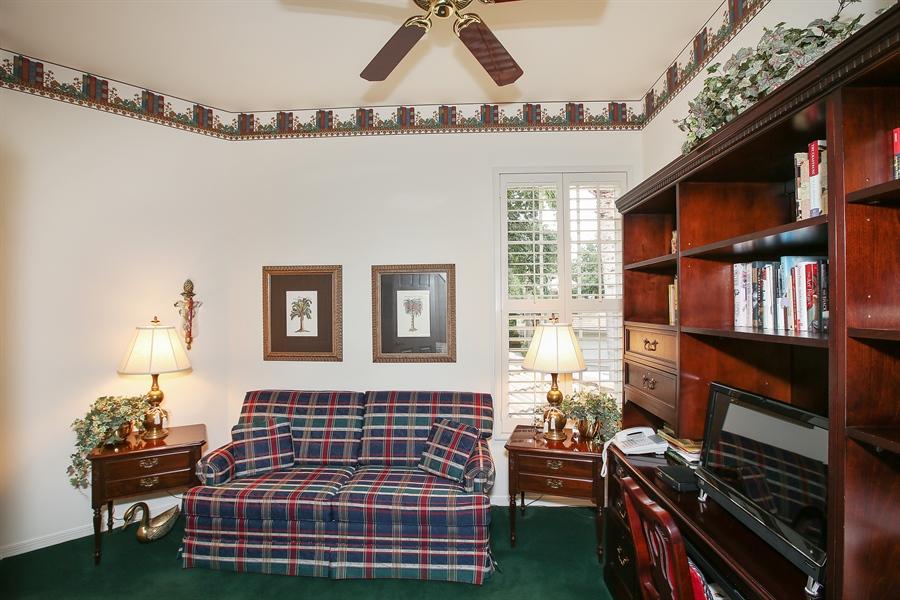 Real Estate Photography - 1061 Egrets Walk Cir, #202, Naples, FL, 34108 - Den