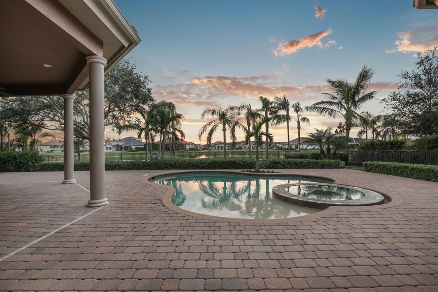 Real Estate Photography - 6037 Sunnyslope, Naples, FL, 34119 - Pool