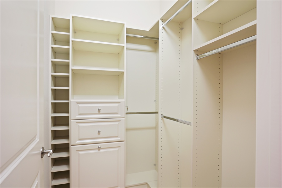 Real Estate Photography - 6037 Sunnyslope, Naples, FL, 34119 - Closet