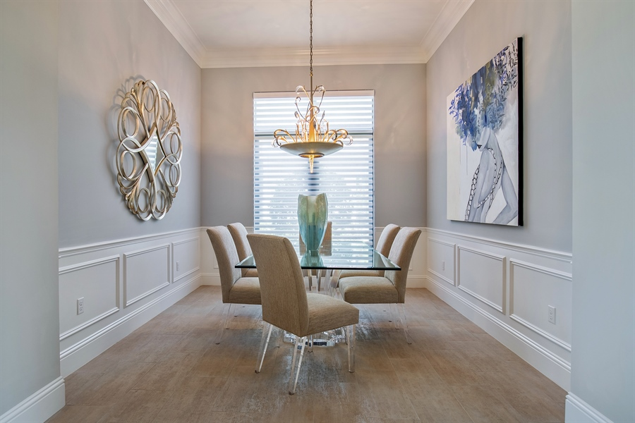 Real Estate Photography - 28886 Blaisdell, Naples, FL, 34119 - Dining Room