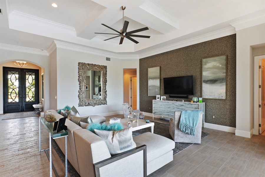 Real Estate Photography - 28886 Blaisdell, Naples, FL, 34119 - Great room