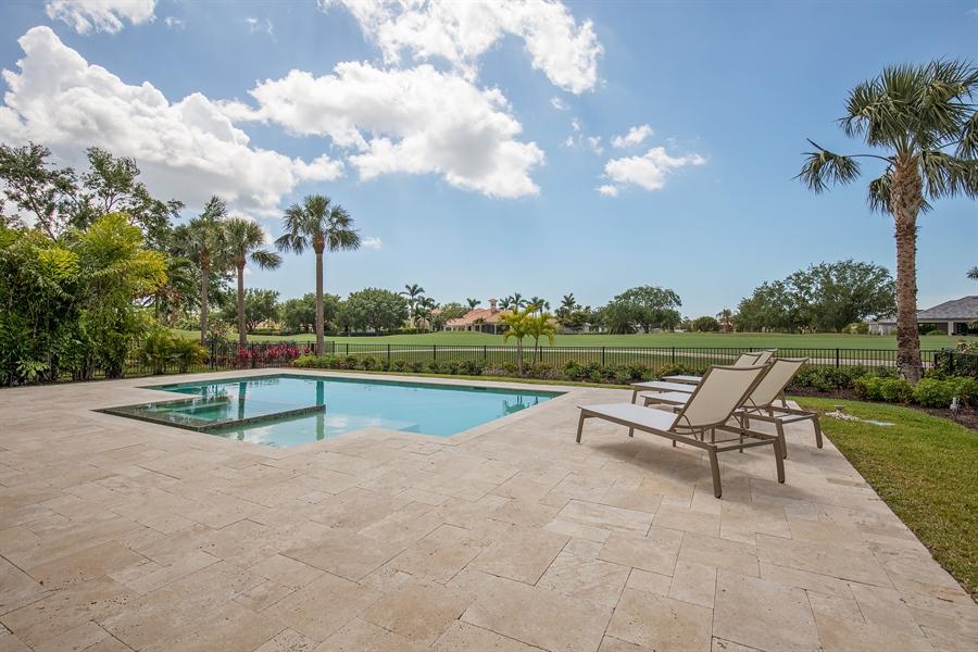 Real Estate Photography - 28886 Blaisdell, Naples, FL, 34119 - Pool