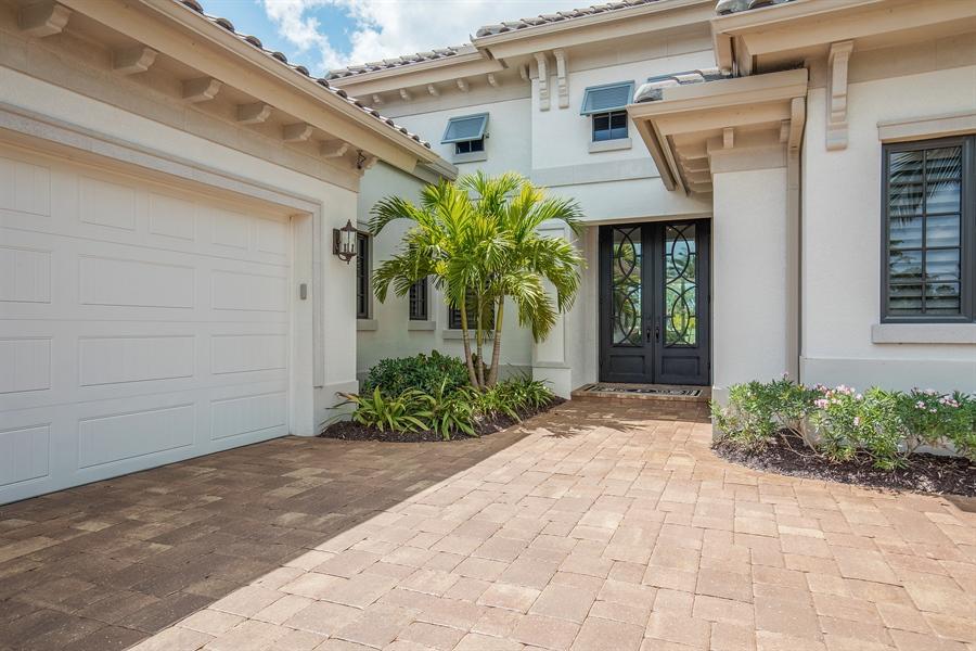 Real Estate Photography - 28886 Blaisdell, Naples, FL, 34119 - Entrance