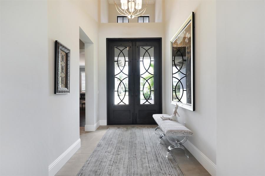 Real Estate Photography - 28886 Blaisdell, Naples, FL, 34119 - Foyer