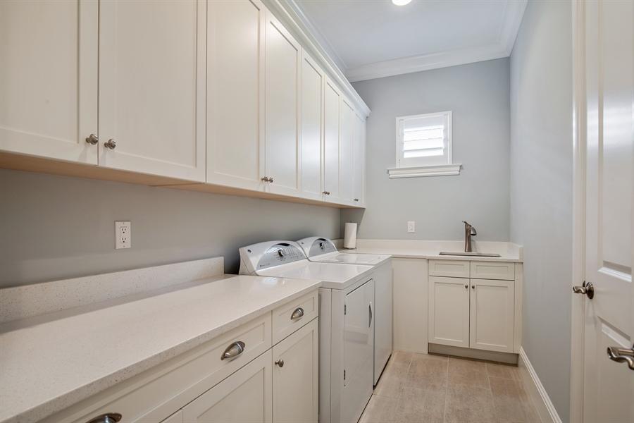 Real Estate Photography - 28886 Blaisdell, Naples, FL, 34119 - Laundry Room
