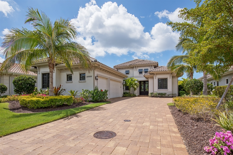Real Estate Photography - 28886 Blaisdell, Naples, FL, 34119 - Front View