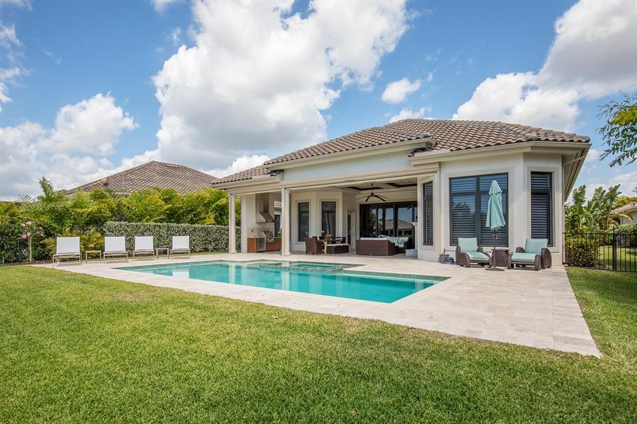 Real Estate Photography - 28886 Blaisdell, Naples, FL, 34119 - Rear View