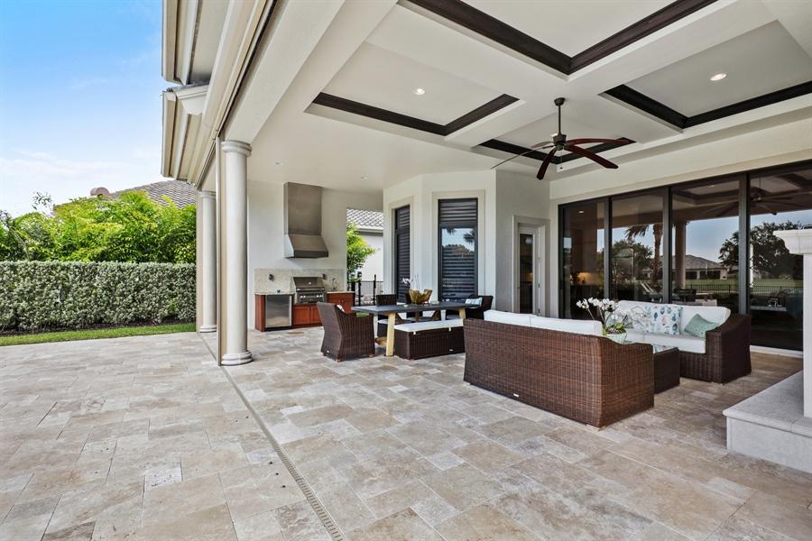 Real Estate Photography - 28886 Blaisdell, Naples, FL, 34119 - Lanai