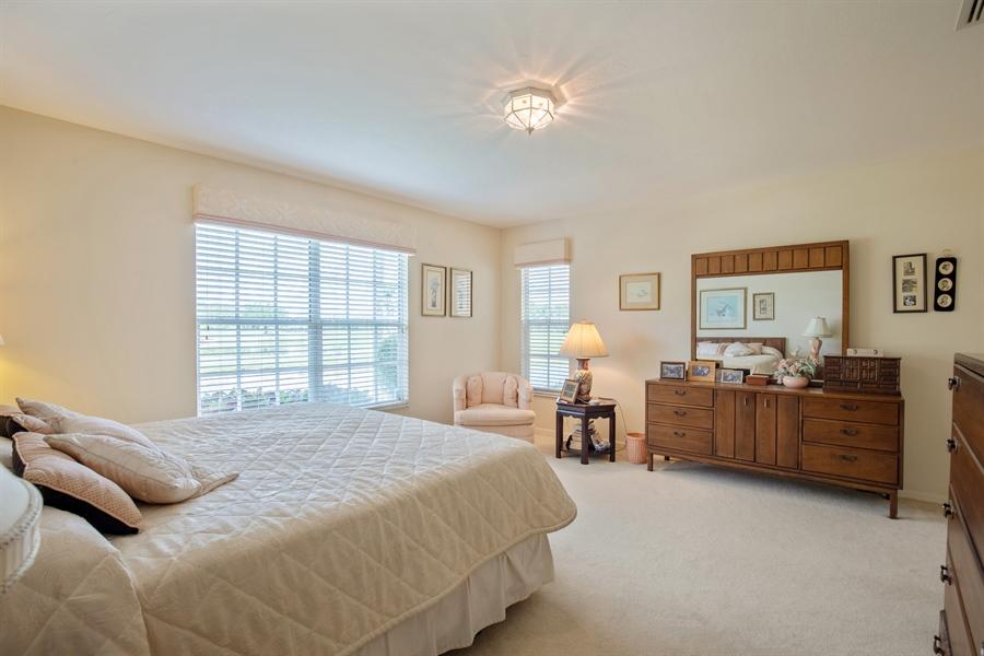 Real Estate Photography - 1577 Weybridge Cir, Naples, FL, 34110 - Master Bedroom