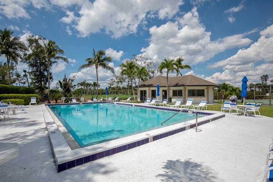 Real Estate Photography - 1577 Weybridge Cir, Naples, FL, 34110 - Pool