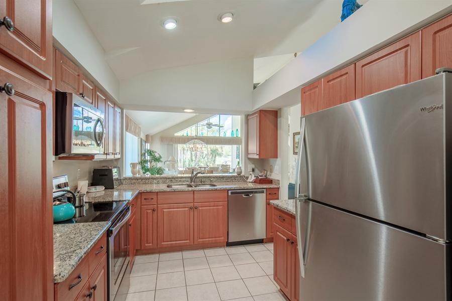 Real Estate Photography - 1577 Weybridge Cir, Naples, FL, 34110 - Kitchen