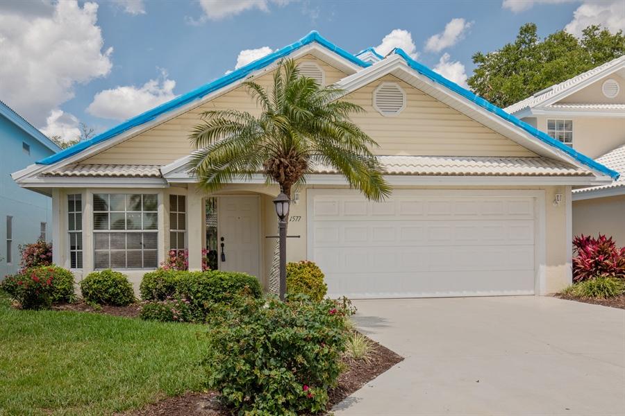 Real Estate Photography - 1577 Weybridge Cir, Naples, FL, 34110 - Front View