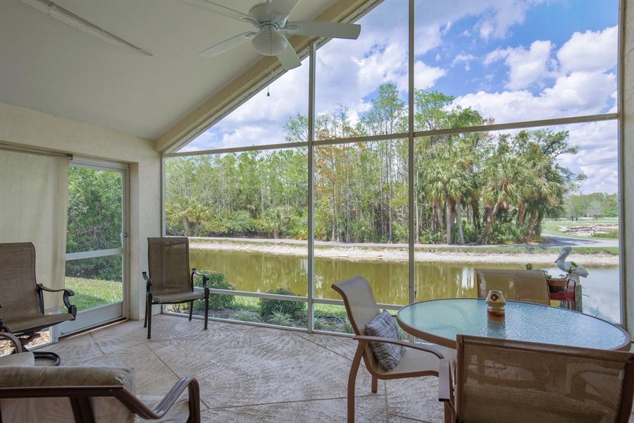 Real Estate Photography - 1577 Weybridge Cir, Naples, FL, 34110 - Lanai