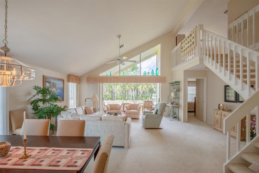 Real Estate Photography - 1577 Weybridge Cir, Naples, FL, 34110 - Living Room / Dining Room