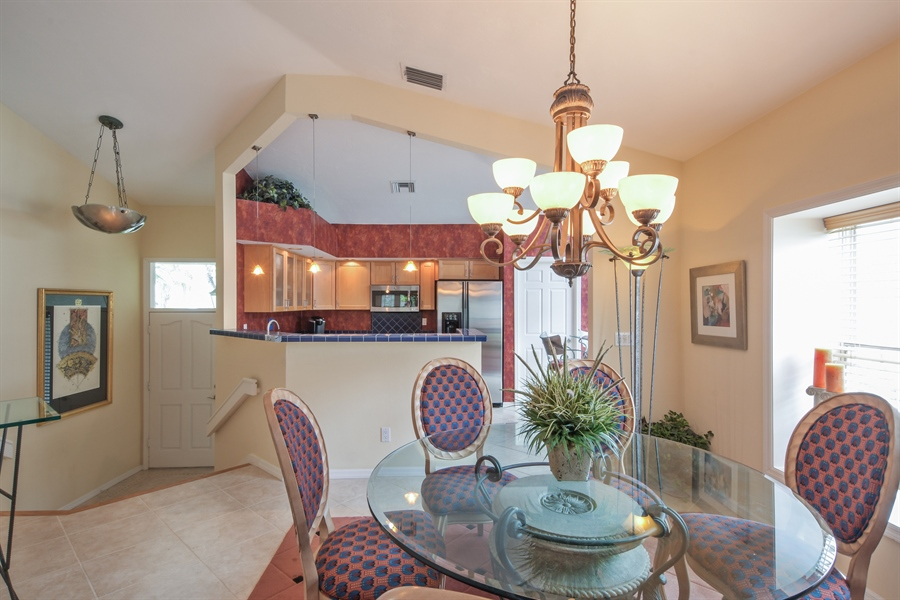 Real Estate Photography - 3630 Key Lime Ct, Bonita Springs, FL, 34134 - Kitchen / Dining Room