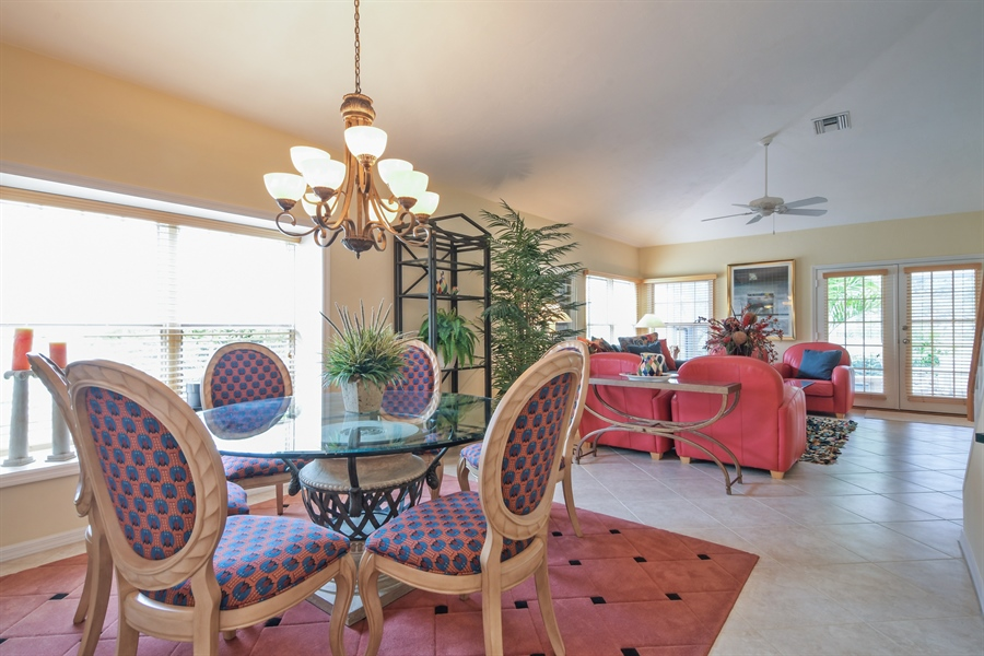 Real Estate Photography - 3630 Key Lime Ct, Bonita Springs, FL, 34134 - Living Room / Dining Room