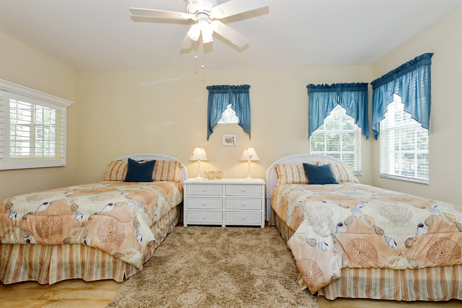 Real Estate Photography - 21420 Pelican Sound Dr, 201, Estero, FL, 33928 - 3rd Bedroom