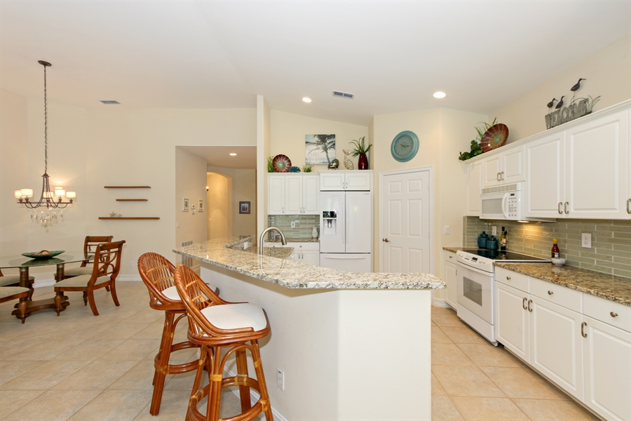 Real Estate Photography - 21420 Pelican Sound Dr, 201, Estero, FL, 33928 - Kitchen