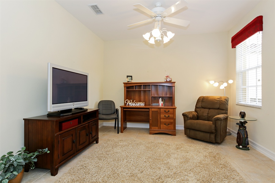 Real Estate Photography - 21420 Pelican Sound Dr, 201, Estero, FL, 33928 - Den