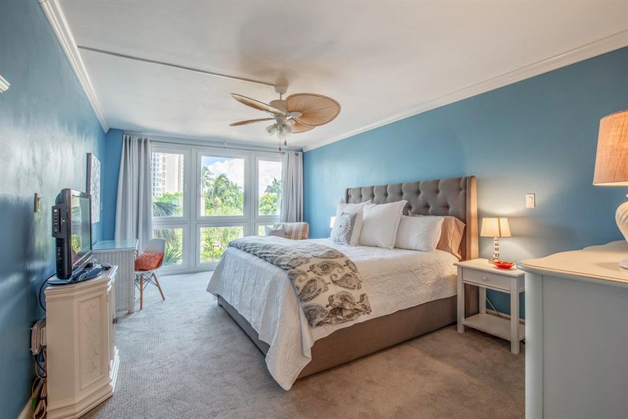 Real Estate Photography - 4031 Gulf Shore Blvd N, Unit 3C, Naples, FL, 34103 - Master Bedroom