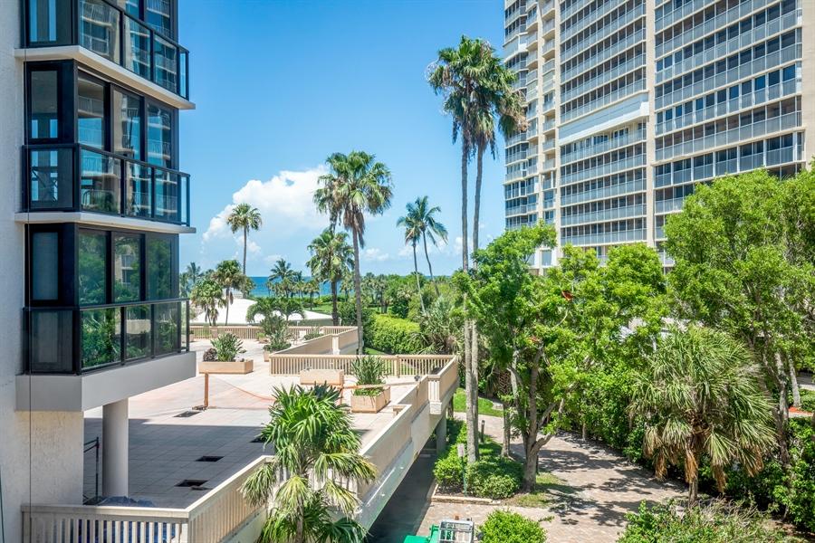 Real Estate Photography - 4031 Gulf Shore Blvd N, Unit 3C, Naples, FL, 34103 - View