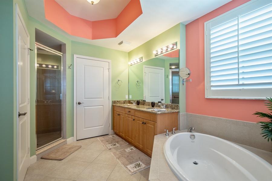 Real Estate Photography - 3901 kensway, unit 3501, Bonita Springs, FL, 34134 - Master Bathroom