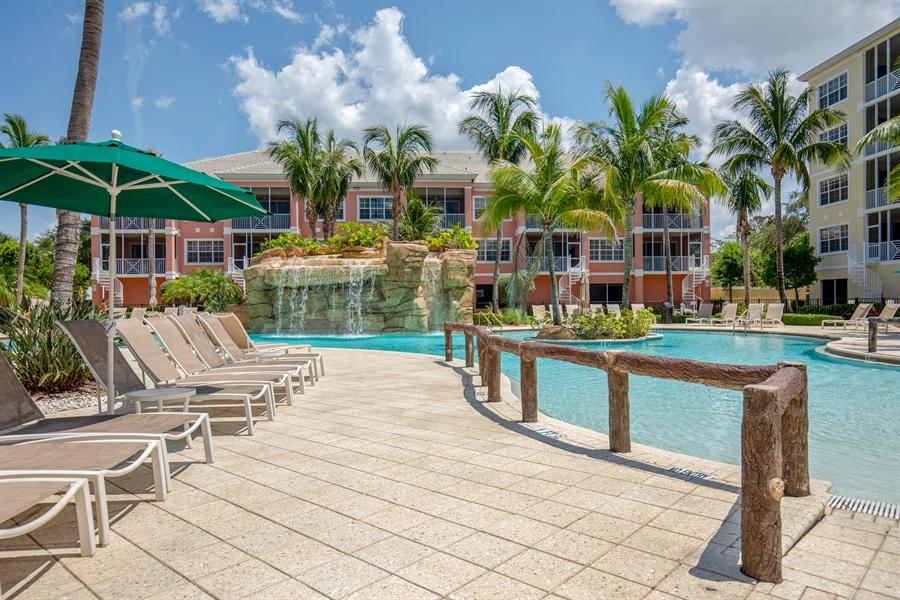 Real Estate Photography - 3901 kensway, unit 3501, Bonita Springs, FL, 34134 - Pool