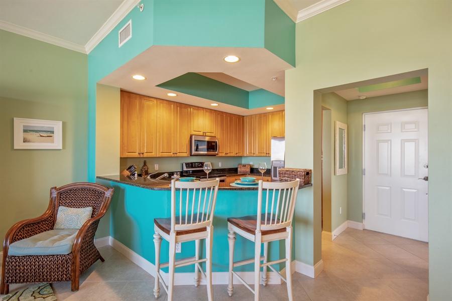 Real Estate Photography - 3901 kensway, unit 3501, Bonita Springs, FL, 34134 - Breakfast Area